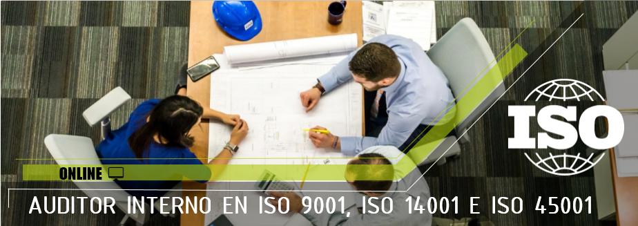 Auditor Interno ISO 9001:2015 - Online